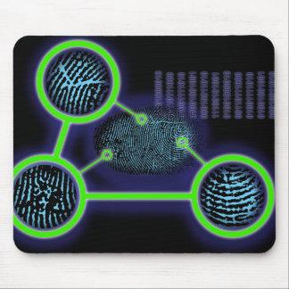 Fingerabdruck-Identifizierung Mauspads
