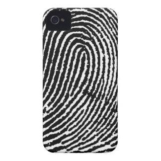 Fingerabdruck iPhone Fall iPhone 4 Case-Mate Hüllen