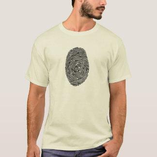 Fingerabdruck T-Shirt