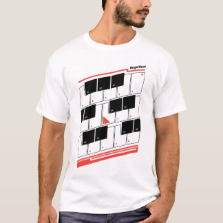 FingerBeat Tastatur T-Shirt