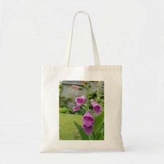 Fingerhut-Blumen-Taschen-Tasche Tragetasche