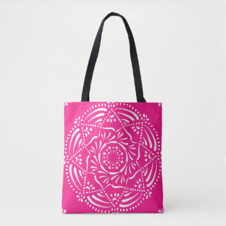 Fingerhut-Mandala Tasche