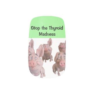 FINGERNÄGEL - stoppen Sie die Minx Nagelkunst