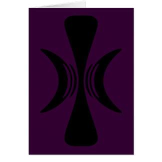 Fingrige Hand fünf von Eris Karte