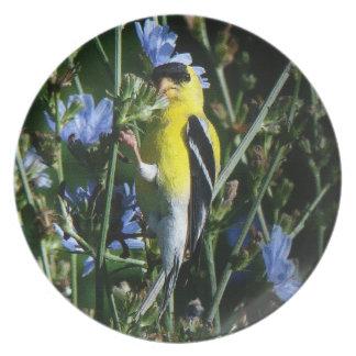 Fink-Blumenplatte Teller