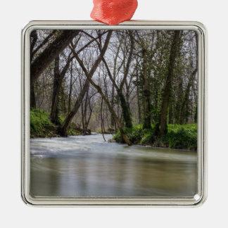 Finley Ruhe-im Frühjahr Zeit Silbernes Ornament