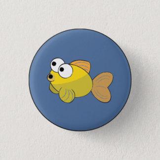 Finn das Fisch-Abzeichen Runder Button 3,2 Cm