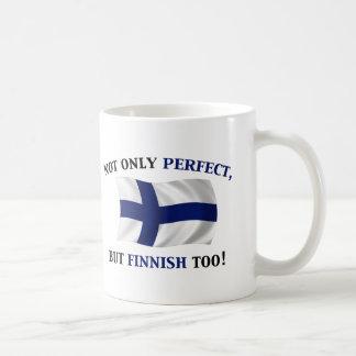 Finnisch und perfekt kaffeetasse