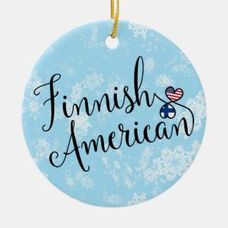 Finnische amerikanische keramik ornament