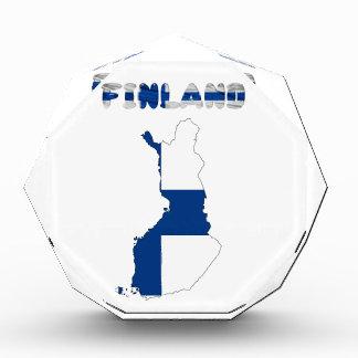 Finnische Landesflagge Auszeichnung