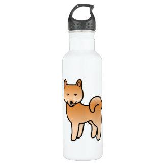 Finnischer Spitz-Cartoon Trinkflasche