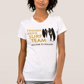 Finnisches Bikini-Brandungs-Team (Licht) T-Shirt