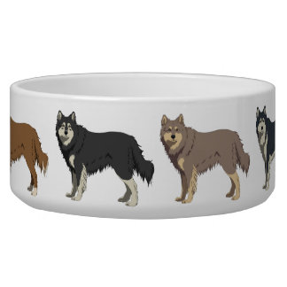 Finnish Lapphund colors dog bowl Napf