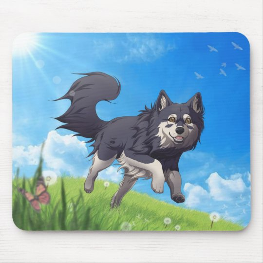 Finnish Lapphund mousepad