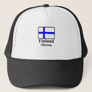 Finnland-Auftrag-Hut Truckerkappe