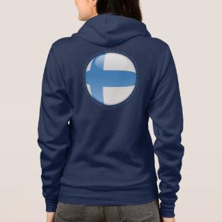 Finnland-Blasen-Flagge Hoodie