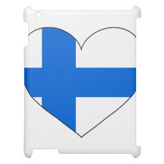 Finnland-Flagge einfach iPad Cover