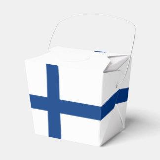 Finnland-Flagge Geschenkschachtel