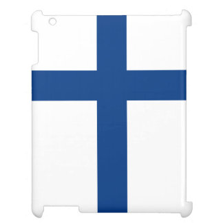 Finnland-Flagge iPad Cover