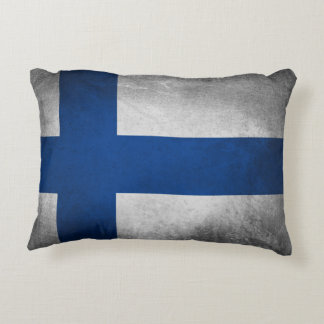 Finnland-Flagge - Kissen