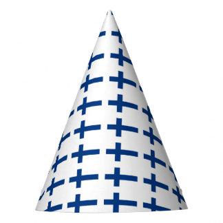 Finnland-Flagge Partyhütchen