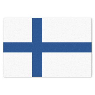 Finnland-Flagge Seidenpapier