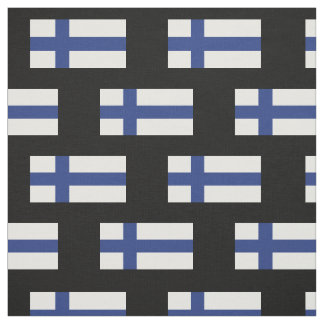 Finnland-Flagge Stoff