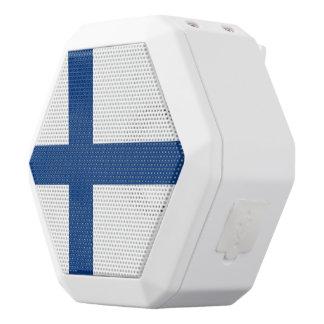 Finnland-Flagge Weiße Bluetooth Lautsprecher