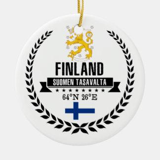 Finnland Keramik Ornament