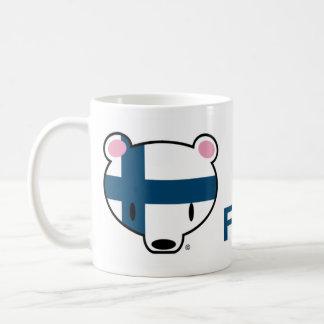 Finnland KumaChan Kaffeetasse