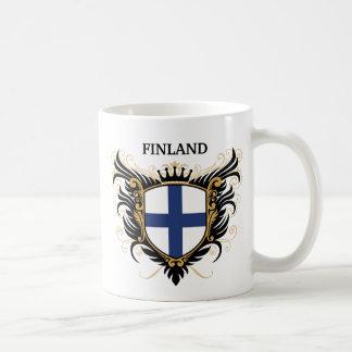 Finnland [personifizieren Sie] Tee Tasse