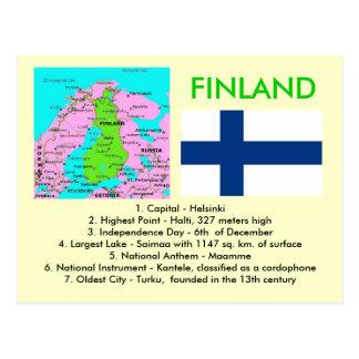 Finnland Postkarte