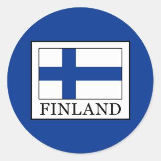 Finnland Runder Aufkleber
