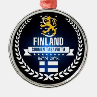 Finnland Silbernes Ornament