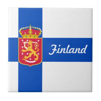 Finnland-Staat Flagge Keramikfliese