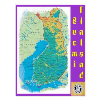 Finnland, Suomi Postkarte