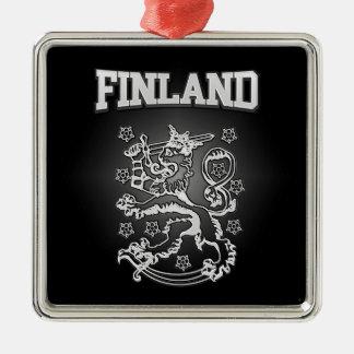 Finnland-Wappen Silbernes Ornament