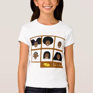 Fino I Liebe mein Haar-T - Shirt