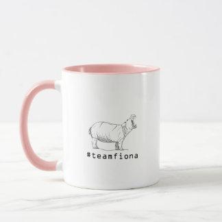 Fiona der Baby-Flusspferd #teamfiona Hippopotamus Tasse