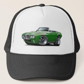 Firebird dunkelgrünes Kabriolett 1969 Truckerkappe