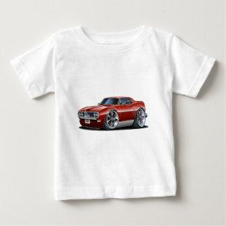 Firebird kastanienbraunes Auto 1968 Baby T-shirt