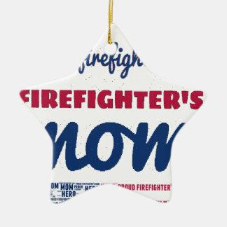 firefighter_mom keramik Stern-Ornament