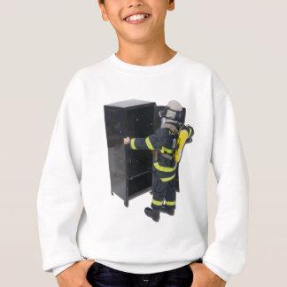 FiremanAndLocker042211 Sweatshirt