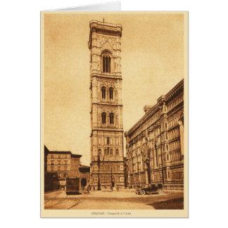 Firenze, Campanile di Giotto Karte