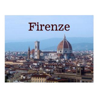 Firenze Florenz Italien Postkarte