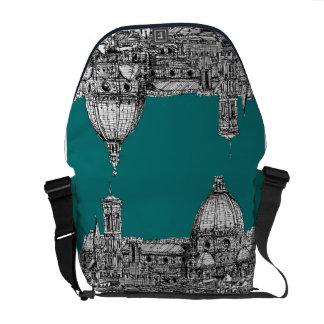 Firenze im Türkis Kurier Taschen