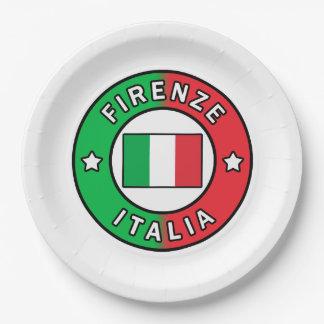 Firenze Italien Pappteller