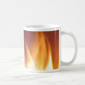 firepit Tanzenflammen Kaffeetasse