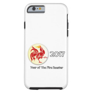 FireRooster2017 Tough iPhone 6 Hülle