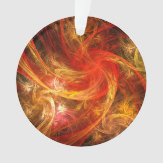 Firestorm-Nova-abstrakter Kunst-Acryl-Kreis Ornament